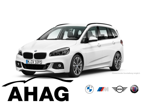 BMW 218i Gran Tourer M Sport, Dienstwagen, AHAG, 45897 Gelsenkirchen