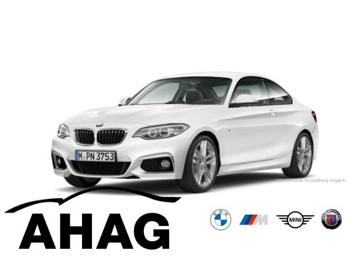 BMW 220d Coupe M Sport, Dienstwagen, AHAG, 45897 Gelsenkirchen