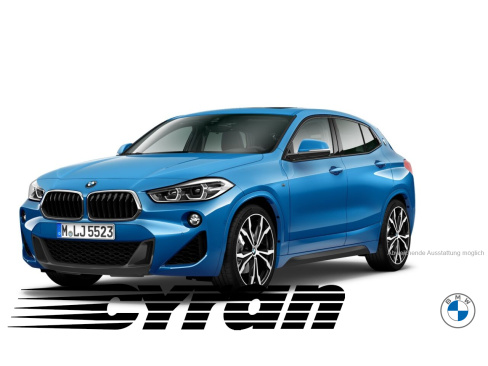 BMW X2 xDrive20d M Sport Steptronic, Vorführwagen, Autohaus Cyran GmbH Gronau, 48599 Gronau