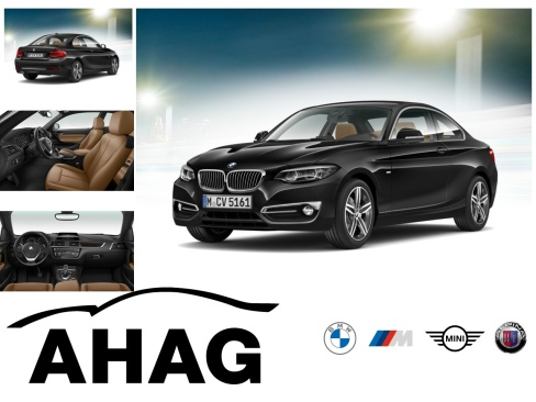 BMW 220i Steptronic Coupe Luxury Line