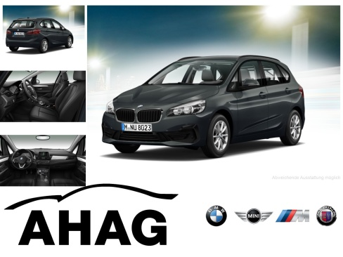 BMW 216d Active Tourer Advantage, Dienstwagen, AHAG Bochum GmbH, 44809 Bochum