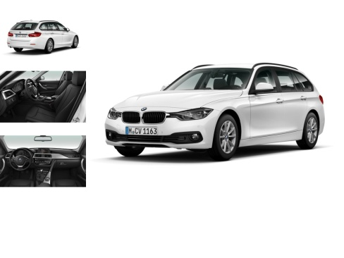 BMW 316d Touring Advantage, Gebrauchtwagen, Autohaus Kruft GmbH, 46117 Oberhausen-Osterfeld