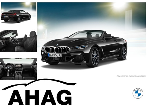 BMW 840i xDrive Cabrio, Dienstfahrzeug, AHAG Coesfeld GmbH, 48653 Coesfeld