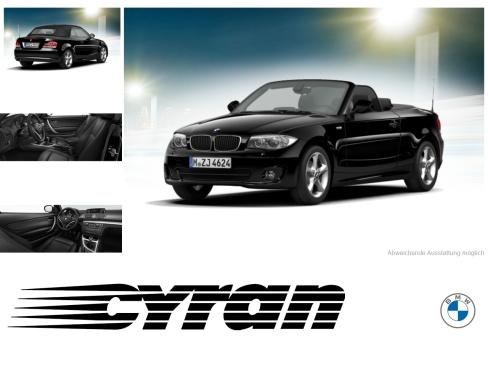 BMW 118d Cabrio, Gebrauchtwagen, Autohaus Cyran GmbH, 48599 Gronau