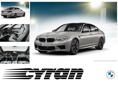 BMW M5 xDrive, Gebrauchtwagen, Autohaus Cyran GmbH, 48599 Gronau