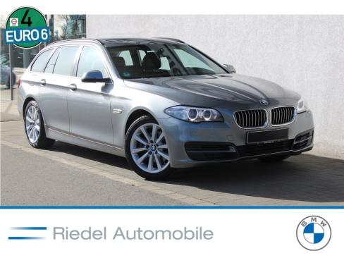 BMW 520d Touring, Gebrauchtfahrzeug, Riedel Automobile GmbH, 46535 Dinslaken