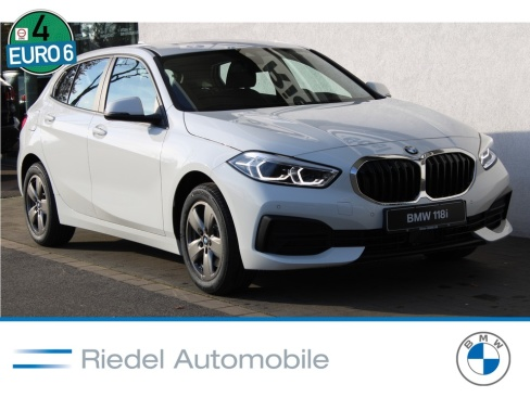 BMW 118i Advantage, Neuwagen, Riedel Automobile GmbH, 46535 Dinslaken