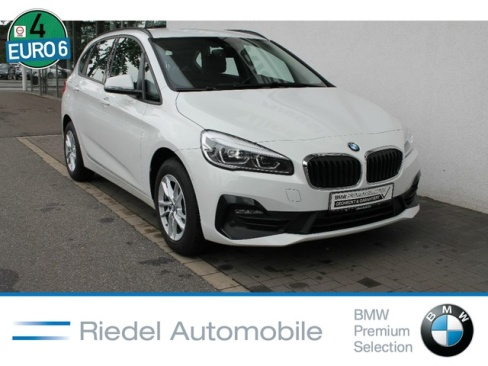 BMW 218i Active Tourer Advantage, Dienstwagen, Riedel Automobile GmbH, 46535 Dinslaken