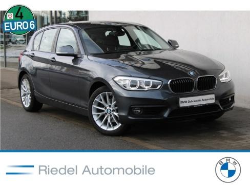 BMW 120d Advantage, Gebrauchtfahrzeug, Riedel Automobile GmbH, 46535 Dinslaken