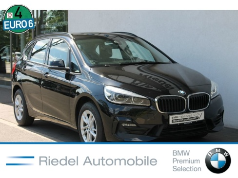 BMW 218d Active Tourer Advantage, Dienstwagen, Riedel Automobile GmbH, 46535 Dinslaken