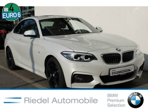 BMW 220i Steptronic Coupe M Sport, Dienstwagen, Riedel Automobile GmbH, 46535 Dinslaken