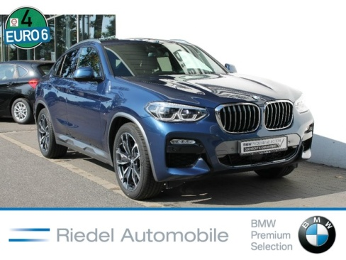 BMW X4 xDrive30d AT M Sport X, Dienstwagen, Riedel Automobile GmbH, 46535 Dinslaken