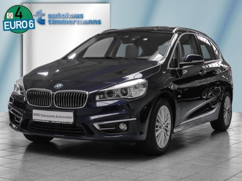BMW 220d Active Tourer Luxury Line, Gebrauchtwagen, Timmermanns Neuss, 41460 Neuss