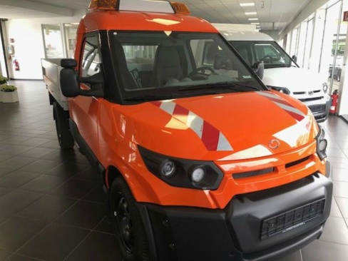 StreetScooter WORK 40 kWh Pickup Orange, Vorführwagen, AHAG, 45897 Gelsenkirchen