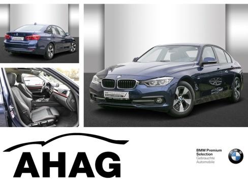BMW 320d EfficientDynamics Ed Sport Line, Gebrauchtwagen, AHAG, 45770 Marl