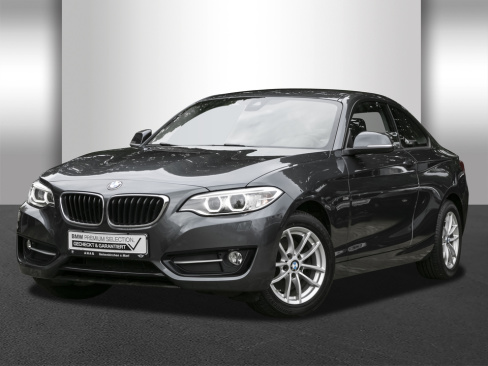 BMW 220i Steptronic Coupe Sport Line