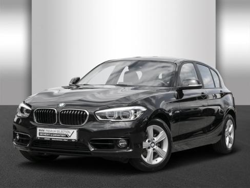 BMW 118d Sport Line, Dienstwagen, AHAG, 45770 Marl