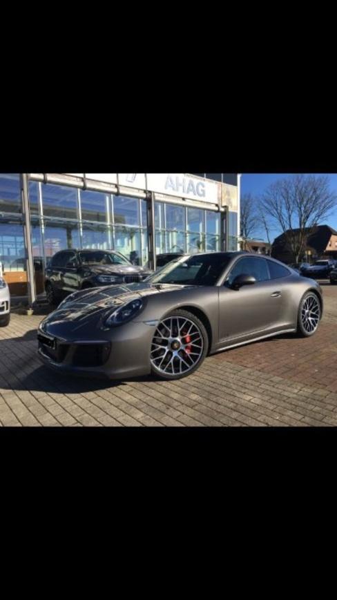 Porsche 911 Carrera 4 GTS Coupe, Gebrauchtwagen, AHAG Coesfeld GmbH, 48653 Coesfeld