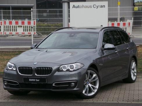 BMW 535d Touring A Luxury Line, Gebrauchtwagen, Autohaus Cyran GmbH, 48599 Gronau