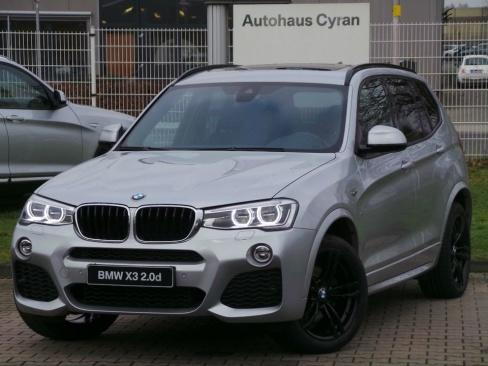 BMW X3 xDrive20d M SPORT AT, Gebrauchtwagen, Autohaus Cyran GmbH, 48599 Gronau