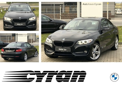 BMW 220d Coupe Sport Line