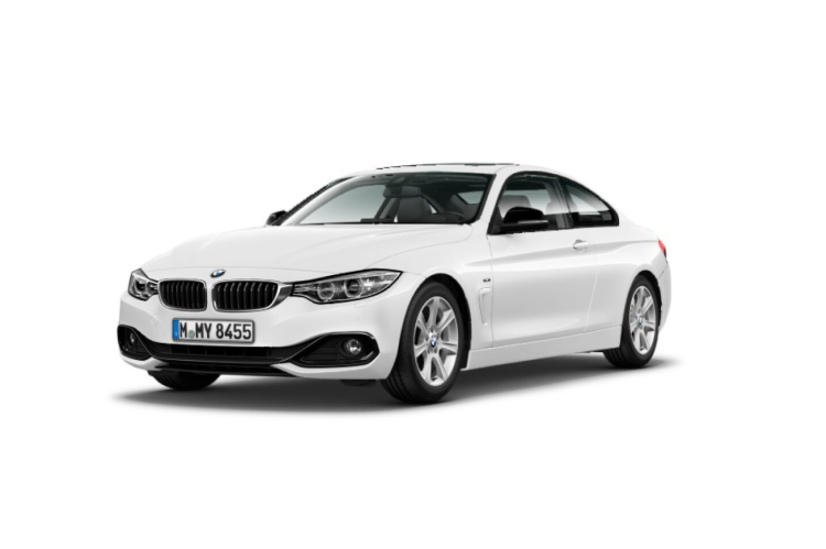 BMW 420d Coupe Sport Line