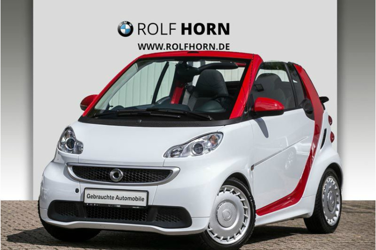 smart fortwo cabrio 1.0 52kW mhd passion