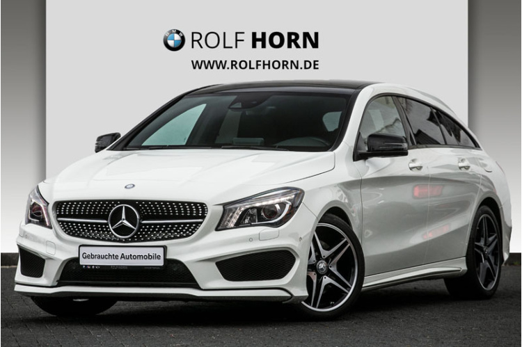 Mercedes-Benz CLA 250 DCT AMG Line Shooting Brake