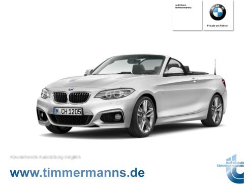 BMW 218d Cabrio M Sport, Gebrauchtwagen, Timmermanns Neuss, 41460 Neuss