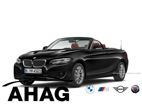 BMW 218i Cabrio Sport Line, Vorführwagen, AHAG, 45897 Gelsenkirchen