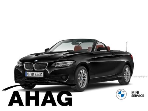 BMW 218i Cabrio Sport Line, Vorführwagen, AHAG, 45770 Marl