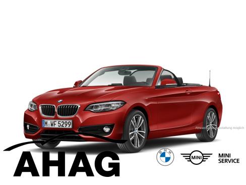 BMW 218i Cabrio Sport Line, Dienstwagen, AHAG Dülmen GmbH, 48249 Dülmen