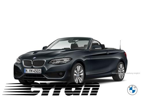 BMW 218i Cabrio Advantage, Neuwagen, Autohaus Cyran GmbH, 48599 Gronau